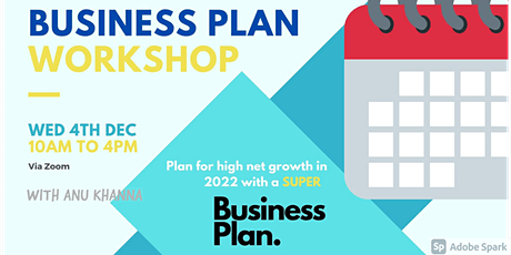 Business Plan Workshop: Step-by-step Action Plan to achieve your Goals-2021 tickets