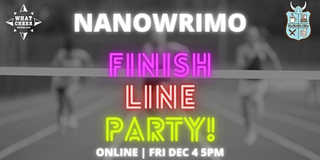 NaNoWriMo Finish Line Party tickets