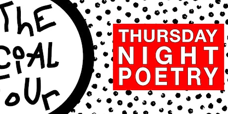 THURSDAY NIGHT POETRY tickets