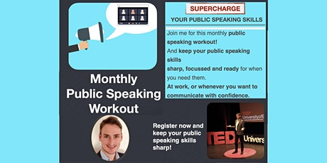 Monthly Public Speaking Workout tickets