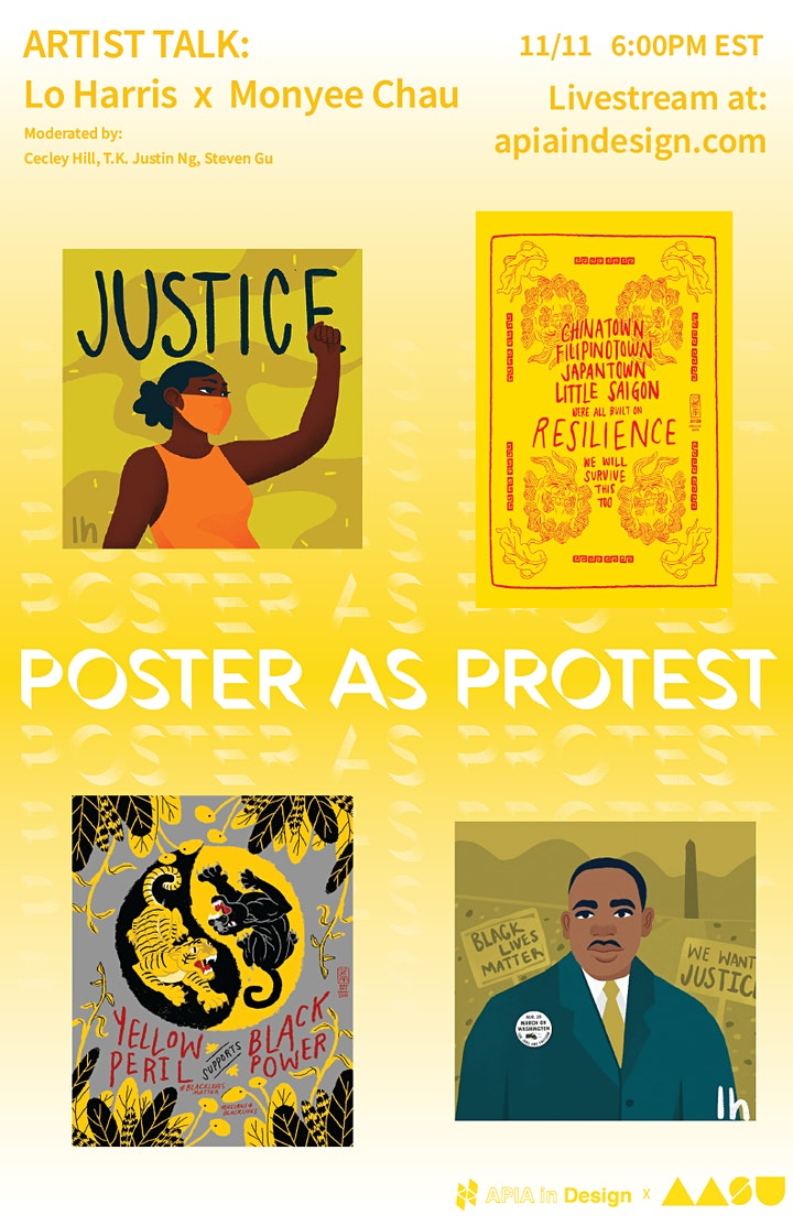 Poster as Protest: Artist Talk with Lo Harris and Monyee Chau image