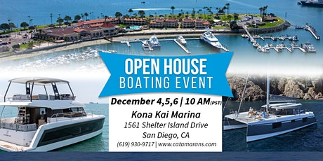 Open House Boating Event - Nautitech 40 OPEN Sail Catamaran on Display tickets