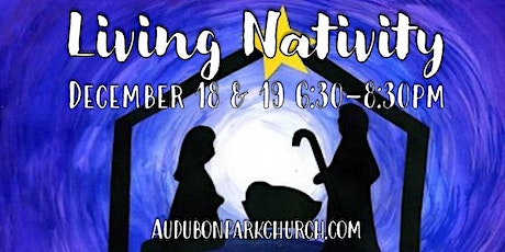 *OUTDOOR* Living Nativity Interactive Experience tickets