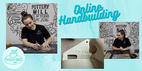 At Home Clay Hand-building Workshop NOVEMBER tickets