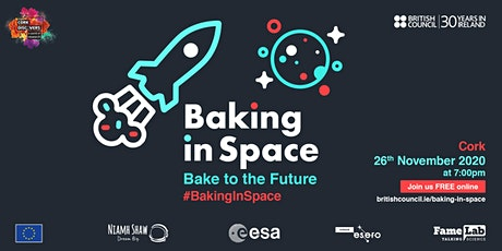 Baking In Space - Bake to the Future: Cork Discovers tickets