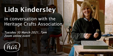 Lida Kindersley in conversation with the Heritage Crafts Association tickets