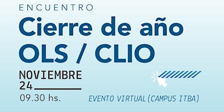 Encuentro de Fin de Año del OLS/CLIO - Noviembre entradas