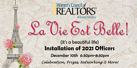 Women's Council of REALTORS® Installation of 2021 Officers tickets