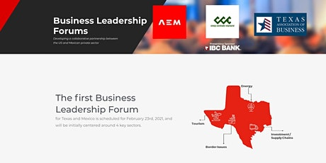 Texas Mexico Business Leadership Forum tickets