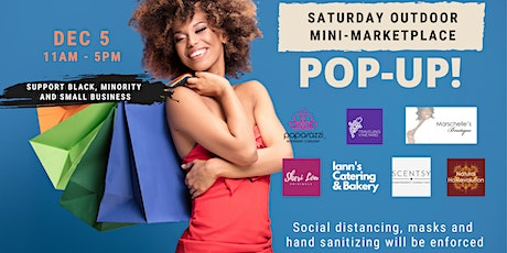 Saturday Outdoor Mini-Marketplace POP-UP tickets