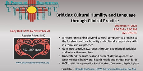 Bridging Cultural Humility and Language in Clinical Practice tickets