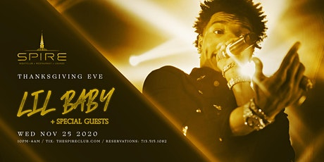 Lil Baby  / Wed November 25th / Spire tickets