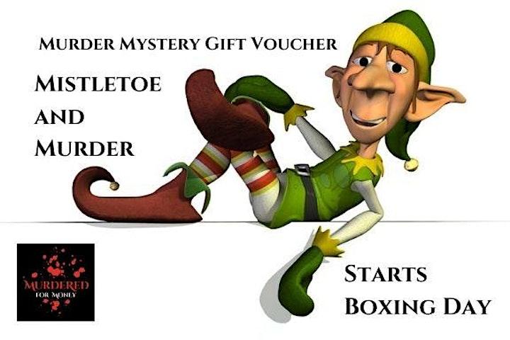 Mistletoe and Murder - Christmas Murder Mystery Challenge image