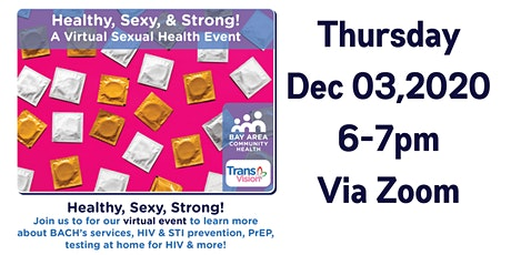 Healthy, Sexy, & Strong! A Virtual Sexual Health Event tickets