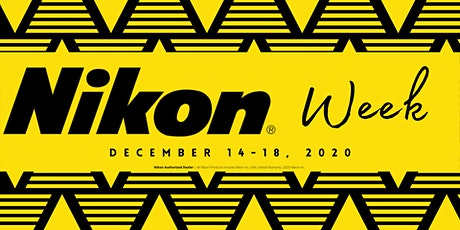 Nikon Week - Backyard Macro tickets