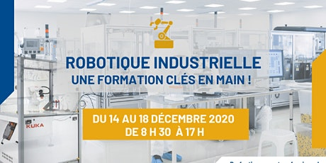 Robotique industrielle : une formation clé en main tickets