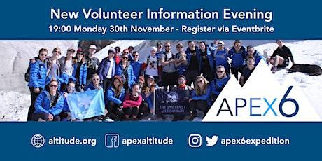 APEX 6 Information Evening  tickets
