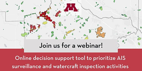 Webinar: Decision support tool to prioritize AIS prevention activities tickets