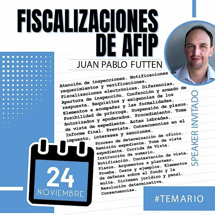 Imagen de /Grabación - Fiscalizaciones de AFIP