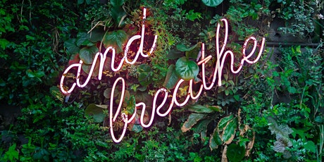 A 20 minute breath practice to help us pause, breathe and centre ourselves tickets