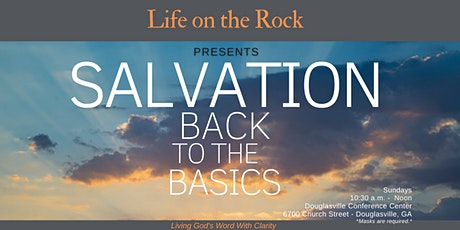 Salvation - Back to the Basics tickets