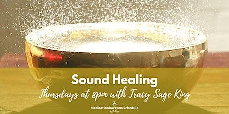 Sound Healing *Virtual* tickets