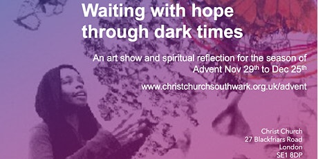 Art Public View | Waiting with hope through dark times, Advent 2020 tickets