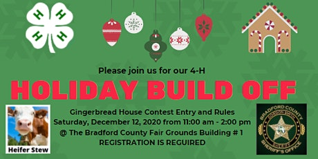 Bradford County 4-H Holiday Build Off tickets