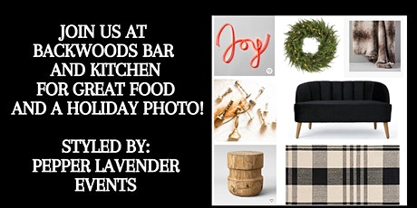 Backwoods Bar and Kitchen Holiday Photo tickets
