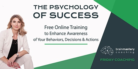 The Psychology of Success – Free Online Training tickets
