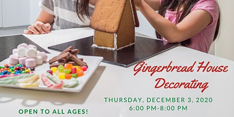 Gingerbread House Decorating Class/Contest tickets