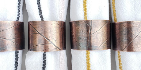 Crafts & Drafts: Copper Napkin Rings with Stacy Rodgers tickets