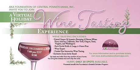 Holiday Wine Tasting Experiene tickets