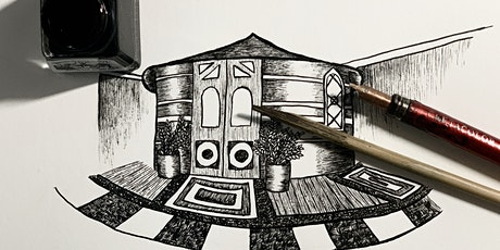 WORKSHOP WITH ARTIST ALAA ALSARAJI   Illustrating Your Sanctuary tickets