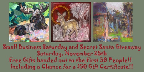 Red Raven Art Company   Small Business Saturday and Secret Santa Giveaways! tickets