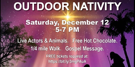 Outdoor Live Nativity Walk-Through tickets