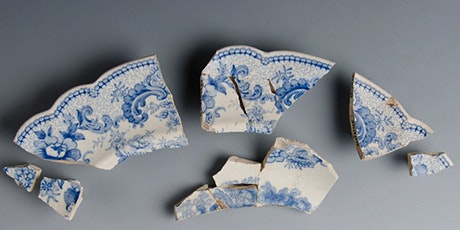 Transferware Patterns from Archaeology tickets