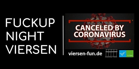 FUCKUP NIGHT VIERSEN Tickets