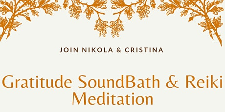 Gratitude SoundBath & Reiki Meditation tickets