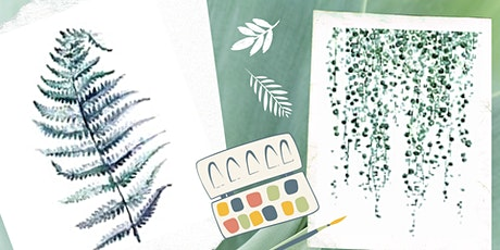 Botanical Watercolor Workshop tickets