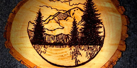 Pyrography the works of Martin Rolfe tickets