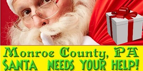 Santa's FREE Drive By Toy Drive Monroe County Pocono Township PA tickets