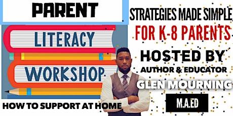 Parent Literacy Workshops (Various Topics) tickets