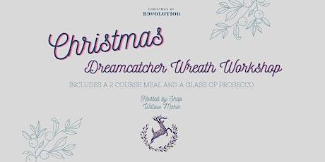 Christmas Dreamcatcher Wreath Workshop tickets
