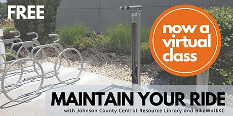 July Maintain Your Ride: Virtual JoCo Library Edition tickets
