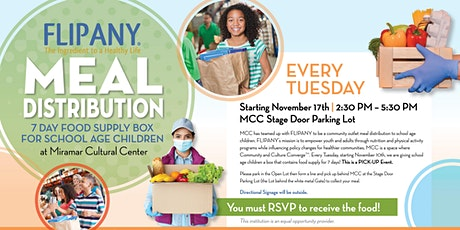 FLIPANY Meal Distribution at MCC tickets