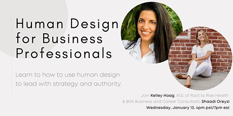 Human Design for Business Professionals tickets