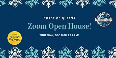 Toast of Queens Toastmasters Open House tickets