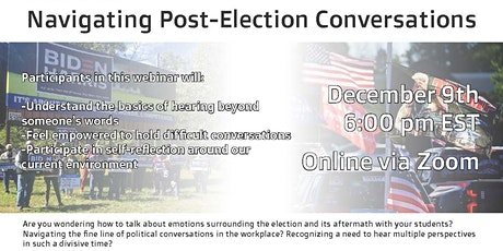 Navigating Post-Election Conversations tickets
