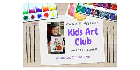 Kids Art Studio (ages 7-13) Tuesdays 4.30pm - 5.30pm tickets